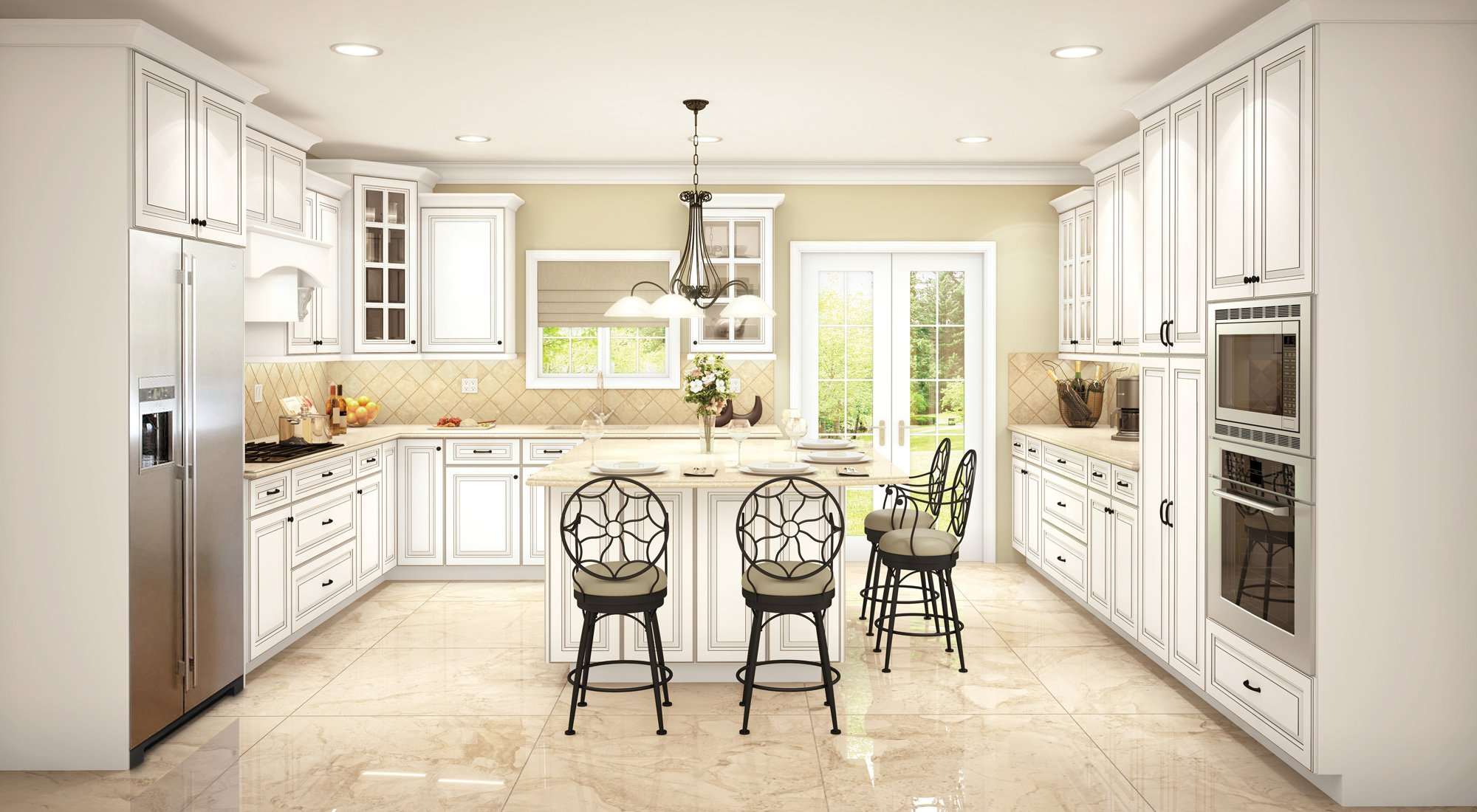 Sofia Pewter Cubitac Cabinetry